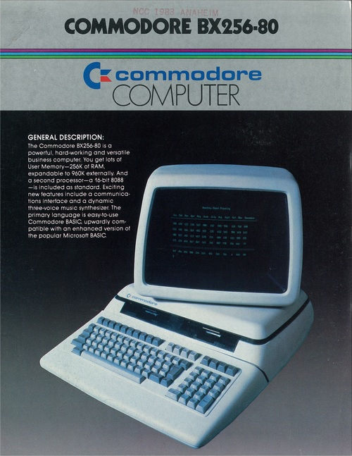 Commodore BX256-80
