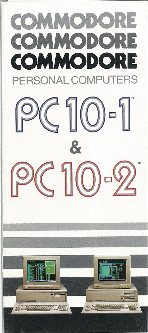 Commodore Personal Computers PC10-1 / PC10-2