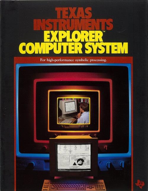 Texas Instruments Explorer Computer System