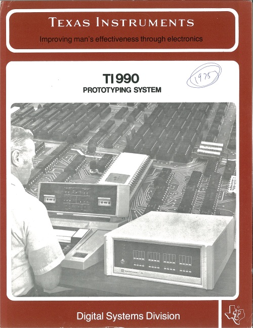Texas Instruments TI 990 Prototyping System
