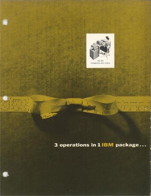 IBM 884 Typewriter Tape Punch