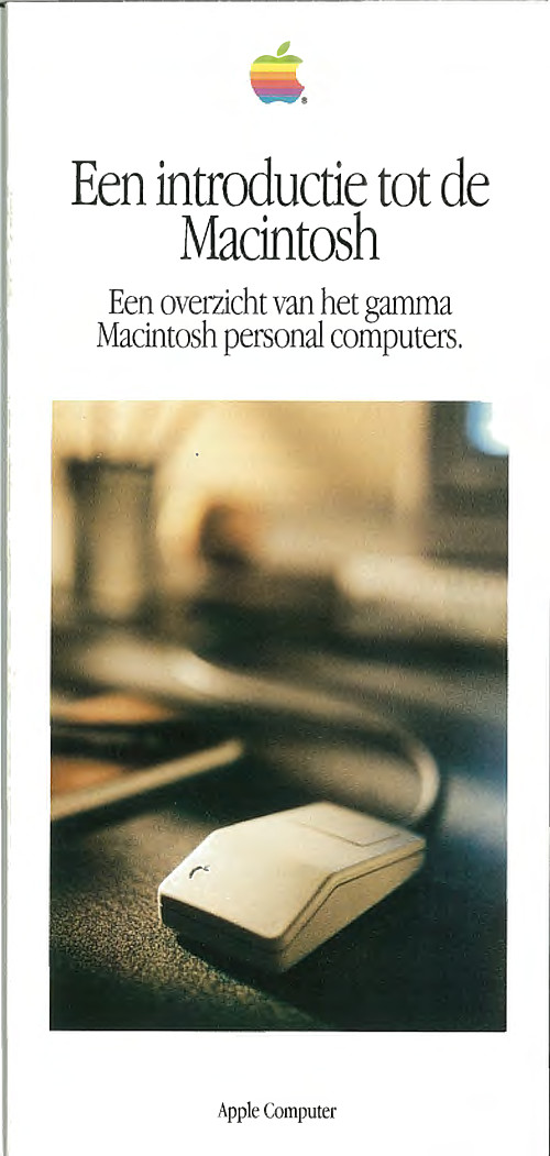 Een introductie tot de Macintosh