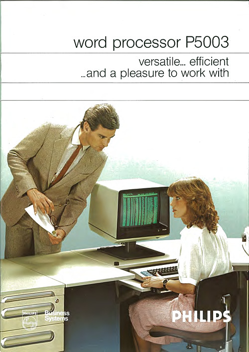 Philips Word Processor P5003