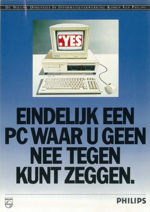 :YES, Eindelijk een PC waar u geen nee tegen kunt zeggen