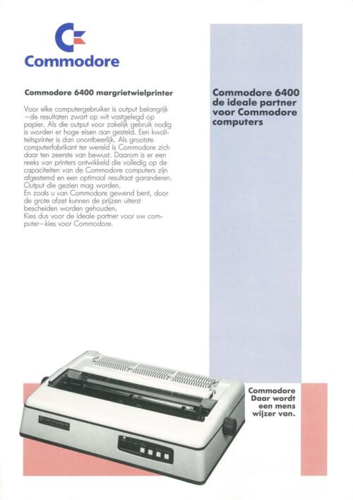 Commodore 6400