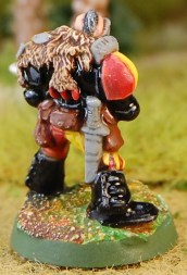 Space Marine Scout with Shuirken Catapult 1 3 close