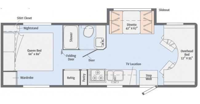 #21 Preferred Class C Floor plan