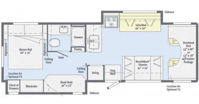 #23 Deluxe Family Class C Floor Plan
