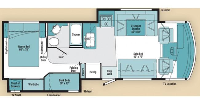 #25 Premium Class A Floorplan