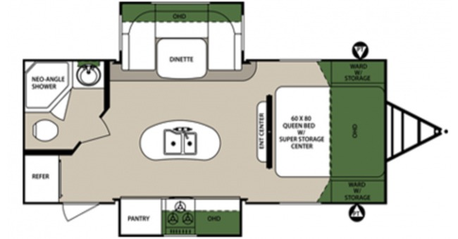 #8 Surveyor Trailer Floorplan