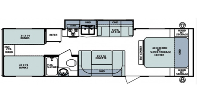 #13 Surveyor Select Floorplan