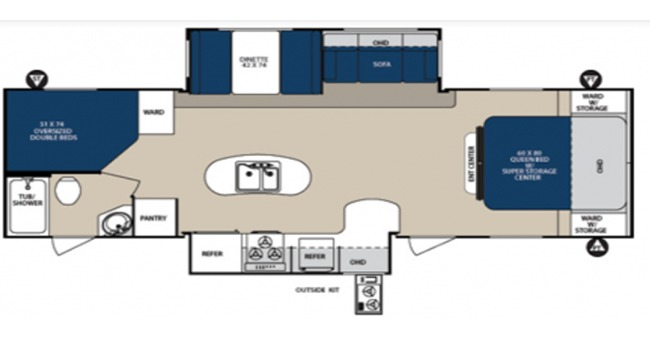 #16 Surveyor Sport Floorplan
