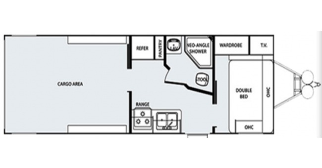Toy Hauler #2 Floorplan