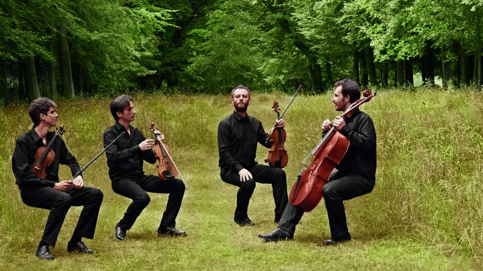 Le quatuor Béla