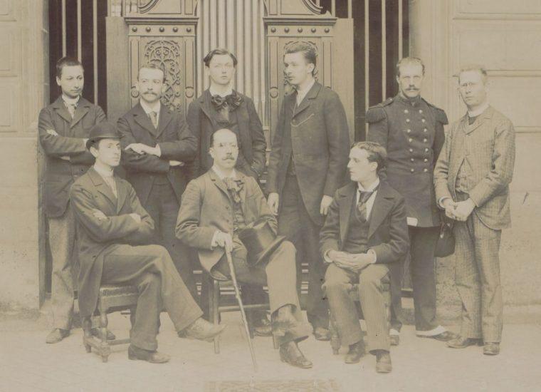 La classe d'orgue de Widor, en 1895, avec Vierne