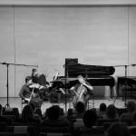 Aylen Pritchin, violon – Michel Strauss, violoncelle – Jean-Claude Vanden Eynden, piano