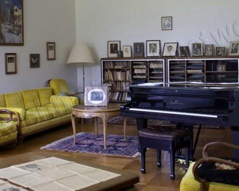 Rachmaninoff's studio, Villa Senar © Moniek Spaans