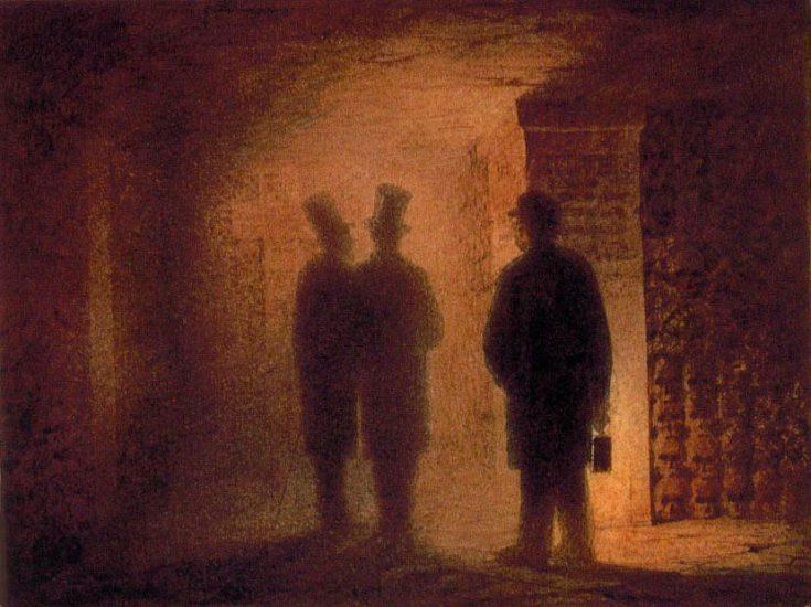 Les catacombes de Paris (Catacombes) par Viktor Hartmann