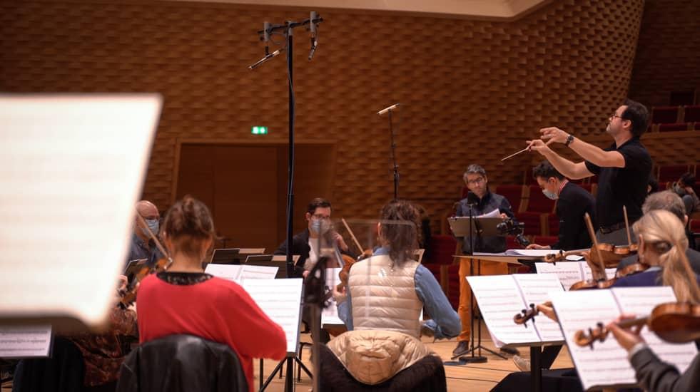Sébastien Rouland à la direction et l'Orchestre de Chambre de Paris pour La Fille de Madame Angot