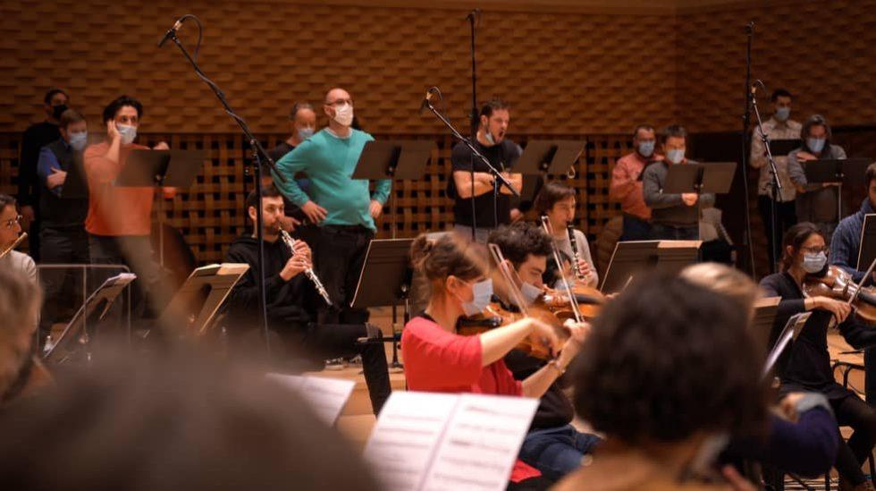 Le Chœur du Concert Spirituel et l'Orchestre de chambre de Paris