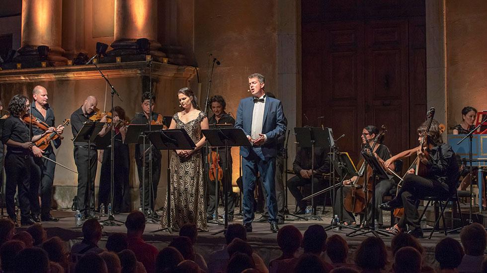 Philippe Jaroussky et Emöke Baráth au festival de musique de Menton