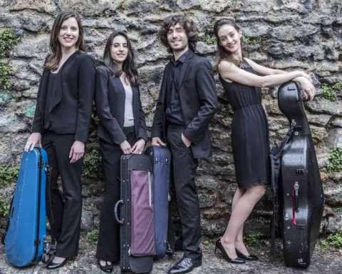 Le Quatuor Koltès aux Musicales d'Assy © Guendalina Flamini