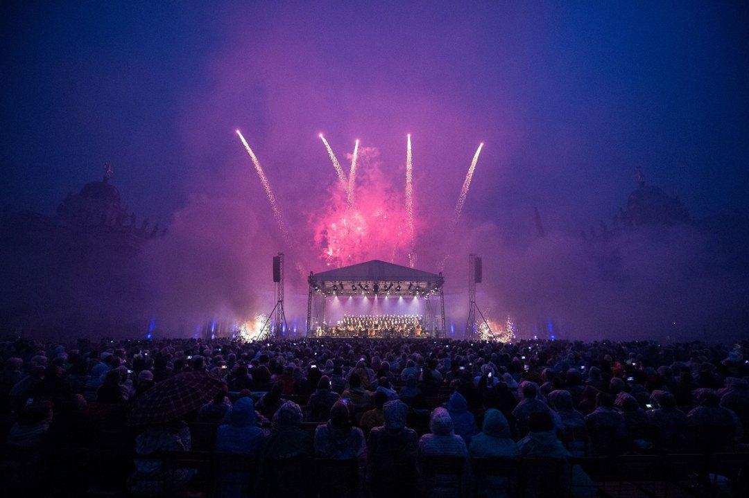 Concert de clôture du festival, communs du nouveau Palais de Sanssouci © Stefan Gloede / Festival Potsdam Sanssouci