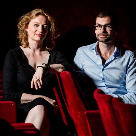 Eva Kleinitz, directrice de l'Opéra et Bruno Bouché, directeur de la danse © Klara Beck