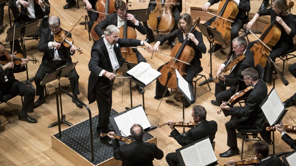 Gardiner et le London Symphony Orchestra © cdherouville