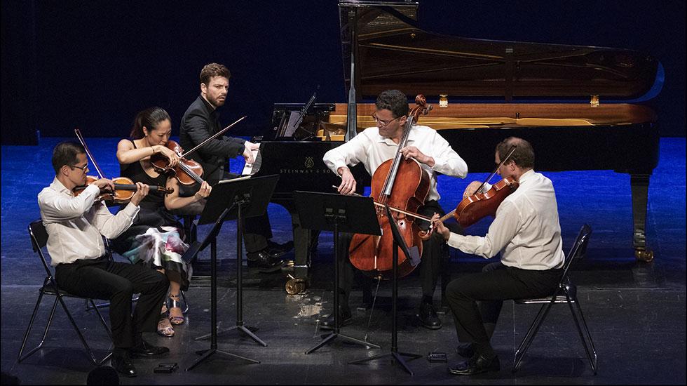 David Kadouch et le quartet 212 © Pascal Gérard