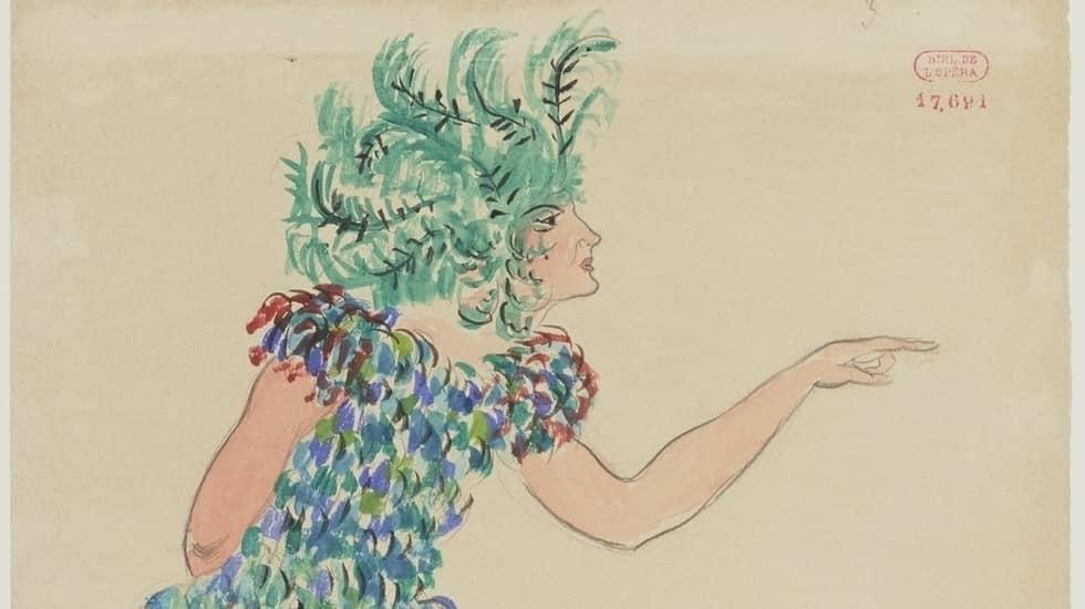 """Extrait de la couverture du livre """"L'opéra sans rédemption ou Eros musicien"""" de Marc Goldschmit © Opéra de Paris"""