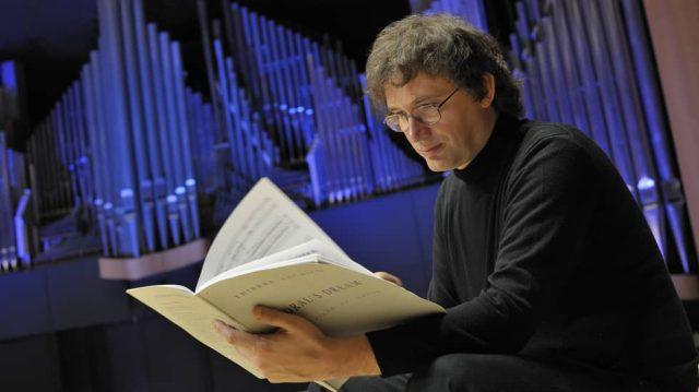 Thierry Escaich à l'auditorium de Lyon © Sébastien Erome