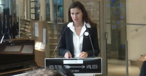 Aurélie Filippetti - Silicon Valois © Classicagenda