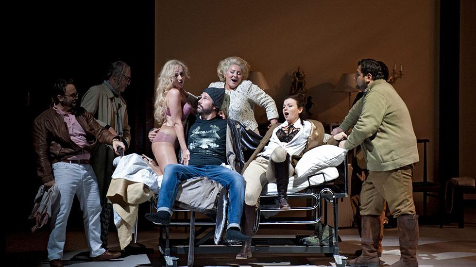 Gianni Schicchi au Dutch National Opera & Ballet © DR
