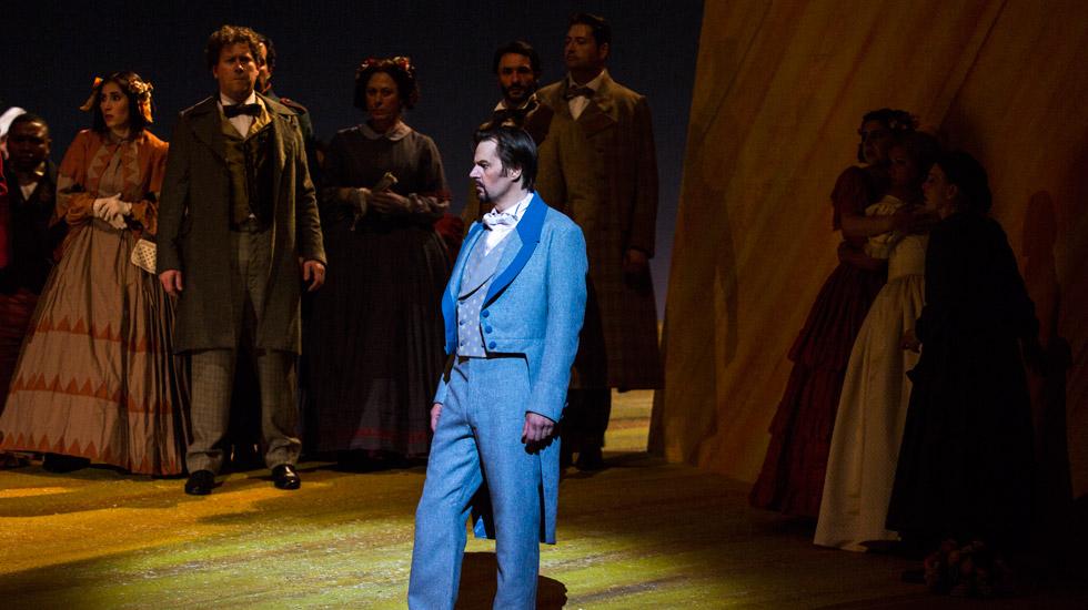 Eugène Onéguine à l'Opéra national de Paris © Guergana Damianova / OnP