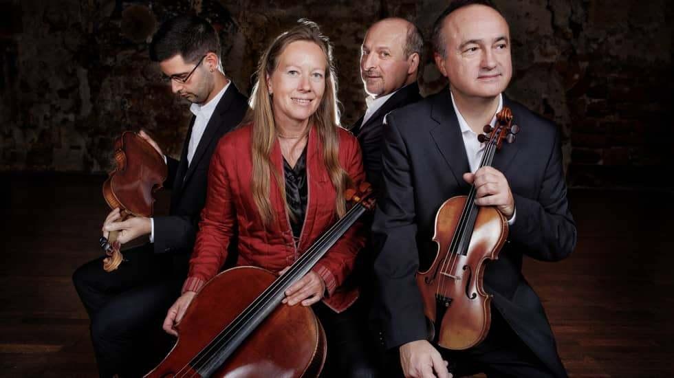 Quatuor Ludwig © Etienne Charbonnier