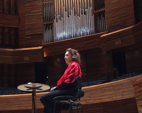 Kaija Saariaho à l'auditorium de Radio France