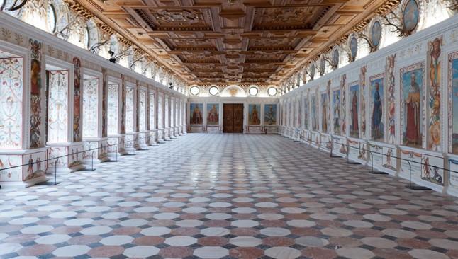 La salle espagnole du Château d'Ambras © DR