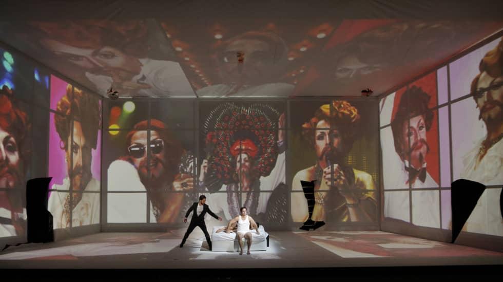 The Rake's Progress d'Igor Stravinski mis en scène par Simon McBurney – Festival d'Aix-en-Provence 2017 © Patrick Berger / artcompress