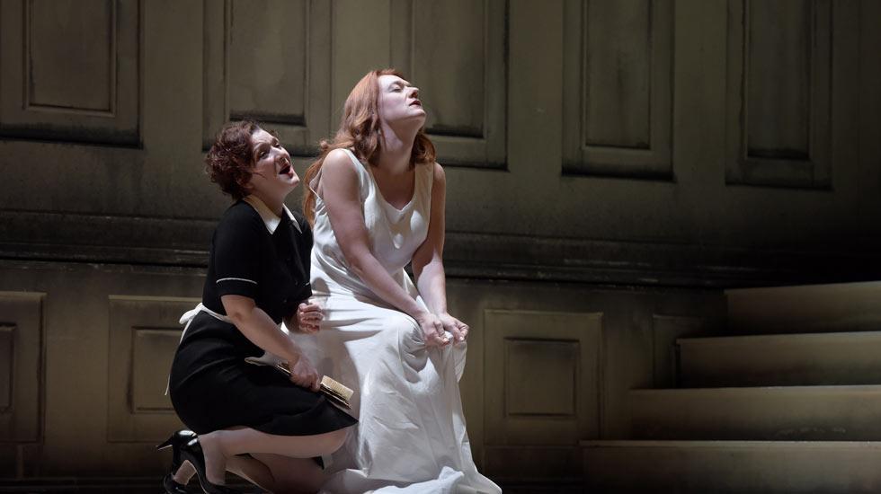 Isabelle Druet (Mélantho) et Magdalena Kožená (Pénélope) Pénélope dans le Retour d'Ulysse