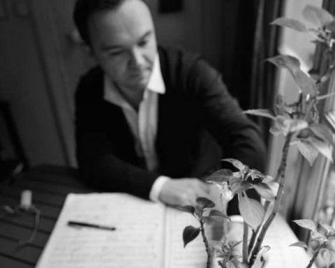 Le compositeur Benoît Menut © Florence Grimmeisen