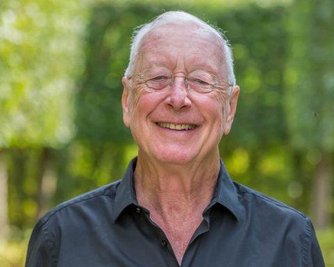 William Christie dans ses jardins
