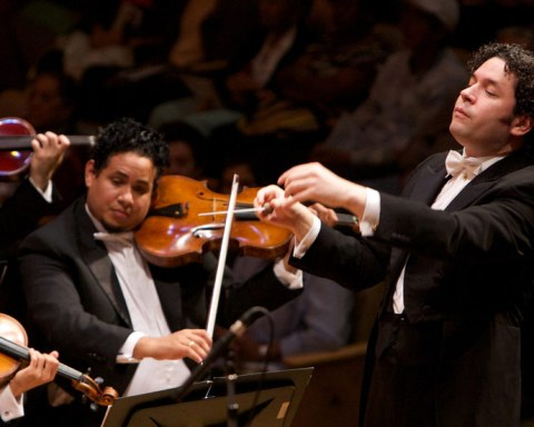 Gustavo Dudamel © Gomez Fundamusical