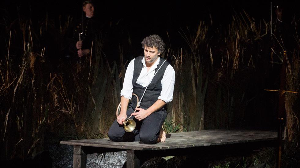Jonas Kaufmann dans Lohengrin © Monika Rittershaus / Opéra National de Paris