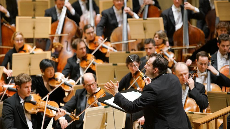 Andris Nelsons et l'Orchestre symphonique de Boston © Michael Blanchard
