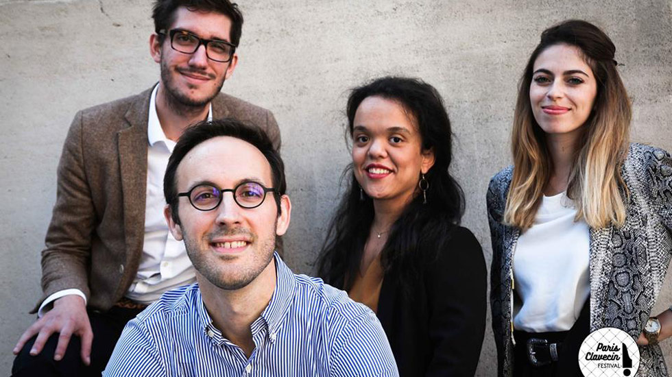 L'équipe du Paris Clavecin Festival © DR