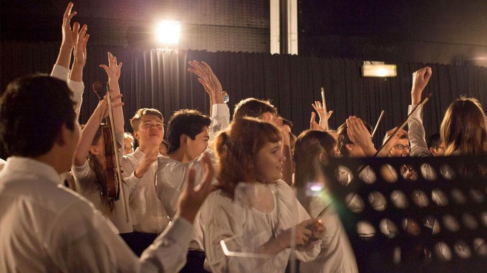 Les coulisses du Music camp du Verbier festival © Aline Paley