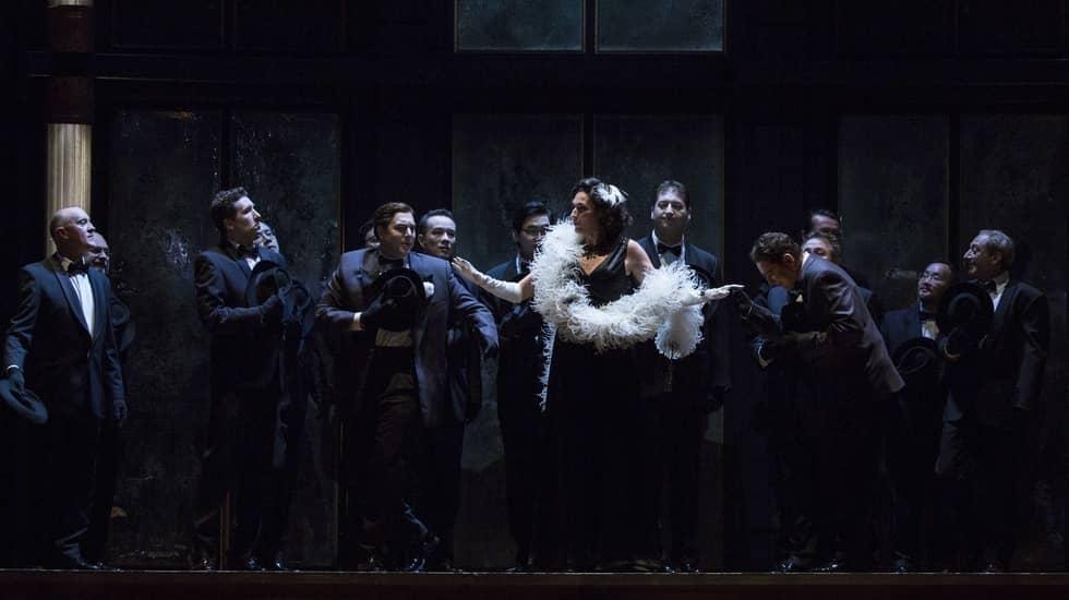 La Veuve Joyeuse de Franz Lehár mise en scène par Jorge Lavelli © Guergana Damianova / Opéra national de Paris
