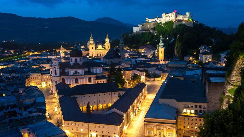 Salzburg Panorama © Tourismus Salzburg