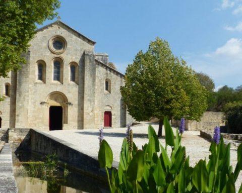 L'Abbaye de Silvacane à la Roque d'Anthéron, étape du Festival de Quatuors à Cordes du Lubéron © Ville de La Roque d'Anthéron